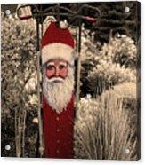 Vintage Santa Acrylic Print