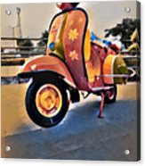 Vintage Scooter Acrylic Print
