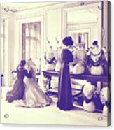 Vintage Seamstress Acrylic Print