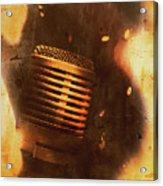 Vintage Sound Check Acrylic Print