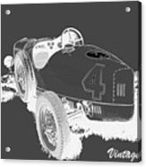 Vintage Speedster Acrylic Print
