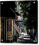 Vintage Street View Acrylic Print