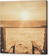 Vintage Sunrise Acrylic Print