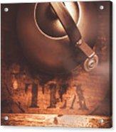 Vintage Tea Break Acrylic Print