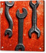 Vintage Tools Acrylic Print