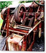 Vintage Tractor Acrylic Print