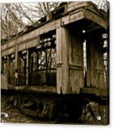 Vintage Train Acrylic Print