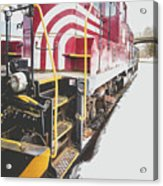 Vintage Train Locomotive Acrylic Print