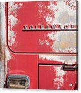 Vintage Volkwagen Emblem Acrylic Print