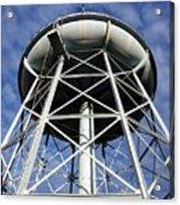Vintage Water Tower Acrylic Print