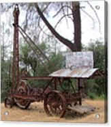 Vintage Well Driller 1 Acrylic Print