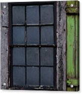 Vintage Windows Acrylic Print