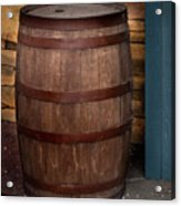 Vintage Wine Barrel Acrylic Print