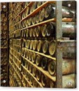 Vintage  Wine Bottles Acrylic Print