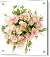 Bouquet Of Garden Roses Acrylic Print