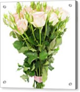 Garden Roses Bouquet Acrylic Print