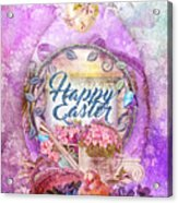 Violet Easter Acrylic Print