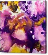 Violet Explosion  Acrylic Print
