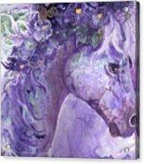 Violet Fantasy Acrylic Print