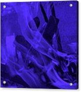 Violet Shine I I Acrylic Print