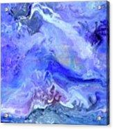 Violet Storm Acrylic Print