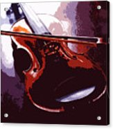Violin Artistic Acrylic Print