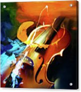 Violin Painting Art 51 Acrylic Print
