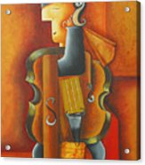 Violin Time Acrylic Print