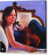 Violino Acrylic Print