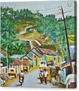 Virajpet Town Acrylic Print