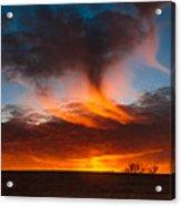 Virga Sunset Acrylic Print