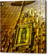 Virgen De Guadalupe 10 Acrylic Print