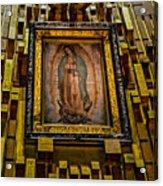 Virgen De Guadalupe 6 Acrylic Print