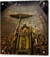 Virgen De Guadalupe 9 Acrylic Print