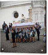 Virgen De La Concepcion - Ciudad Vieja Guatemala Acrylic Print