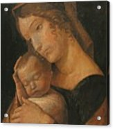 Virgin And Child 1470 Acrylic Print