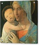 Virgin And Child 1495 Acrylic Print
