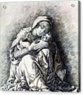 Virgin And Child Madonna Of Humility 1490 Acrylic Print
