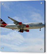 Virgin Atlantic Boeing 747-443 Acrylic Print
