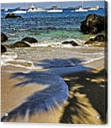 Virgin Gorda Beach Acrylic Print