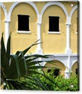 Virgin Island Architecture Acrylic Print