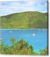 Virgin Island Getaway Acrylic Print