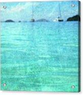 Virgin Islands Blues Acrylic Print