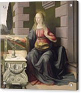 Virgin Mary, From The Annunciation Acrylic Print