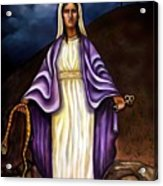 Virgin Mary- The Protector Acrylic Print