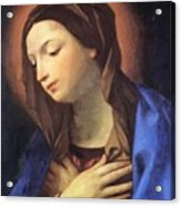 Virgin Of The Annunciation Acrylic Print