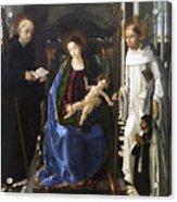 Virgin Of The Knight Of Montesa  Acrylic Print