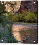 Virgin River Reflection Acrylic Print