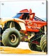 Virginia Beach Monster Truck Rally Acrylic Print