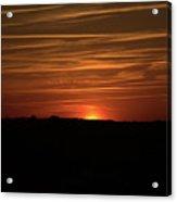 Virginia Beach Sunset Acrylic Print